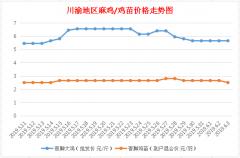 川渝地区麻鸡价格行情2019年6月3日