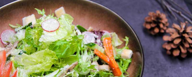 蔬菜沙拉菜是生的吗