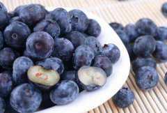 蓝莓蒸熟吃的功效与作用