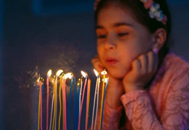 祝女儿生日短句霸气