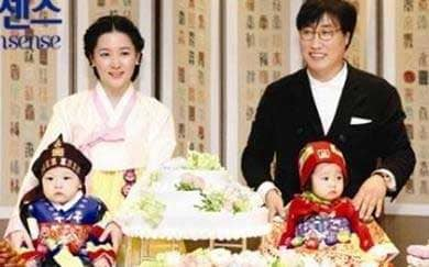李英爱一家人